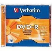 Difox Verbatim DVD-R 4,7GB 16x Speed, Jewel Case