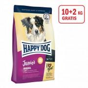 Happy Dog: Supreme Junior Original, 10kg + 2kg GRATIS