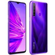"Telefon Mobil Realme 5, Procesor Snapdragon 665 Octa-Core 2.0/1.8GHz, Ecran IPS LCD 6.5"", 4GB RAM, 128GB Flash, Camera Quad 12 + 8 + 2 + 2 MP, Wi-Fi, 4G, Dual Sim, Android (Violet)"