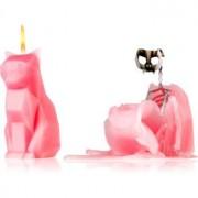 54 Celsius PyroPet KISA (Cat) decorative candle dusty pink 17 cm