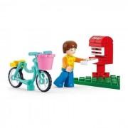 Girl's Dream postaláda 29 darabos építőkészlet biciklis figurával
