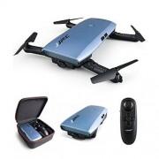 JJRC Elfie Plus H47 Upgraded plegable WiFi FPV Drones con cámara HD 720P, modo de control remoto Dual (Control de gravedad Sensing)