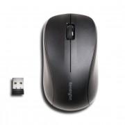 Kensington Mouse for Life - Rato - destros e canhotos - óptico - 3 botões - sem fios - 2.4 GHz - receptor sem fio USB - preto