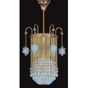 Pendant crystal chandelier 6036 01/1-3635