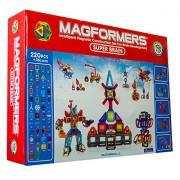 Magformers Super Brain Set, Multi Color (220 Pieces)