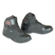 Booster Paddock Motorcycle Boots Black 40