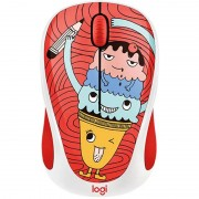 Mouse Logitech Wireless M238 Doodle Collection TRIPLE SCOOP