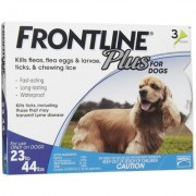 Frontline Plus (Blue) for Medium Dogs 23-44lbs 6 Doses