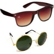 Aventus Round Sunglasses(Green)