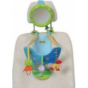Jucarie bebelusi Taf Toys Toy Car - Spending Frog With Rearview Mirror