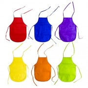 Childrens Artists Aprons - Kitchen, Classroom, Community Event, Crafts & Art Painting Activity. Safe