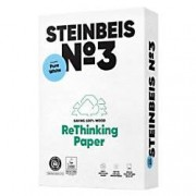 Steinbeis Pure White Recycled Printer Paper A4 80gsm 110 CIE 500 Sheets