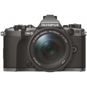 Aparat Foto Mirrorless Olympus E-M5 Mark II Body, 16 MP, Filmare Full HD (Negru) + Obiectiv 12-100mm IS PRO