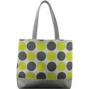 Anges Grey Polka Shoulder Bag