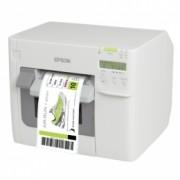Етикетен принтер Epson ColorWorks C3500, LAN, цветно, авторезачка