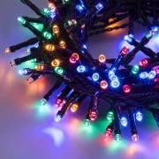 Luci Da Esterno Catena 12,5 m, 300 LED Multicolor, controller con 8 giochi di luce, non prolungabile