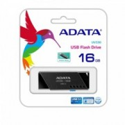 16GB USB Flash Drive, A-Data UV330 AUV330-16G-RBK, USB 3.1, черна