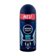 Nivea Men Dry Active 48h deodorante antitraspirante roll-on 50 ml uomo