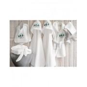 Capa de baño de bebé 85x85 cm - Toalla capucha bebé bordada