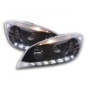 FK-Automotive faro Daylight Mercedes classe c tipo W204 anno di costr. 07-10 nero