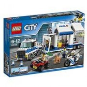 LEGO City kocke Policija - Mobilni komandni centar 60139