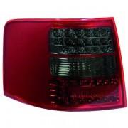Set fari fanali posteriori TUNING AUDI A6 Avant Allroad 1997-2004, LED rosso nero