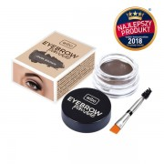 Gel de sprancene - Wibo Eyebrow Pomade - Dark Brown