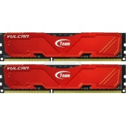 Memorie TeamGroup Vulcan Red 8GB Kit2x4GB DDR3 2400MHz CL11