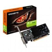 Видео карта GF GT 1030, 2GB, Gigabyte GV-N1030D5-2GL, PCI-E 3.0, GDDR5, 64 bit, HDMI, DVI