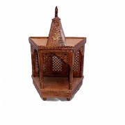 Shilpi Handicrafts Sheesham Wooden Temple/Mandir Medium size