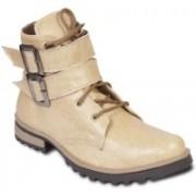 TEN Stylish And Elegant Boots For Men(Beige)