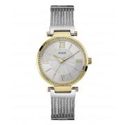 Guess Horloges Watch Soho W0638L7 Zilverkleurig