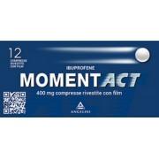 Angelini Momentact 12 Compresse Rivestite 400 Mg