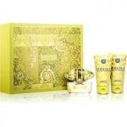 Versace Yellow Diamond lote de regalo XIII. eau de toilette 50 ml + gel de ducha 50 ml + leche corporal 50 ml