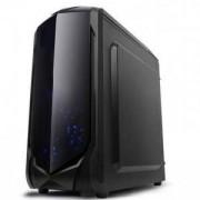 Кутия Spire SPITZER 22 X2-C6022W-CE/R/W-2U3 за компютър черна без захранване, SP-CASE-X2-C6022W-CE/R/W-2U3