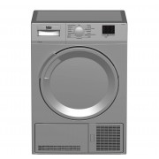 Beko DTLCE70051S Freestanding 7kg Condenser Tumble Dryer-Silver