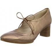 Clarks Women's Grace Isla Brown Leather Ballet Flats - 4 UK/India (37 EU)