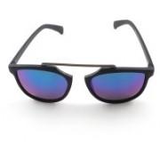 PARK DANIEL Wayfarer Sunglasses(Violet)