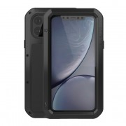 LOVE MEI Dust-proof Shock-proof Phone Casing for iPhone 11 Pro 5.8 inch - Black