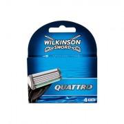 Wilkinson Sword Quattro sada náhradních hlavic 4 ks pro muže
