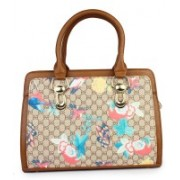 Shoetopia Handbag-Butterfly-Brown Brown Shoulder Bag