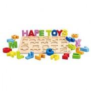 Hape - Alphabet Wooden Stand Up Puzzle