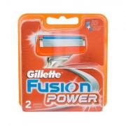 Gillette Fusion Power lama di ricambio 2 pz