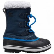 Sorel Kid`s Yoot Pac Nylon Scarpe invernali (1, nero/blu)