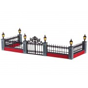 Lemax Lighted Wrought Iron Fence