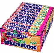 Mentos Fruit Snoep - 40 Rollen