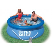 Intex - Басейн 244 х 76см с филтърна помпа