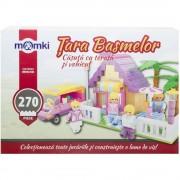 Joc MomKi Casuta cu terasa si vehicul 270 piese