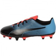 Puma Women's Blue & Black Spirit II FG Football Shoes