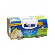 Humana Italia Spa Humana Omogeneizzato Pera Biologico 2x100 g